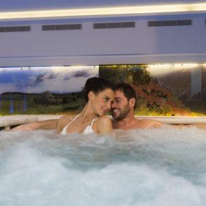 Romantischen Tagen in den Dolomiten