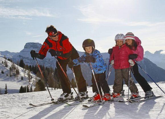 CANAZEI IS AMONG THE TEN BEST SKI RESORTS IN THE WORLD FOR CHILDREN