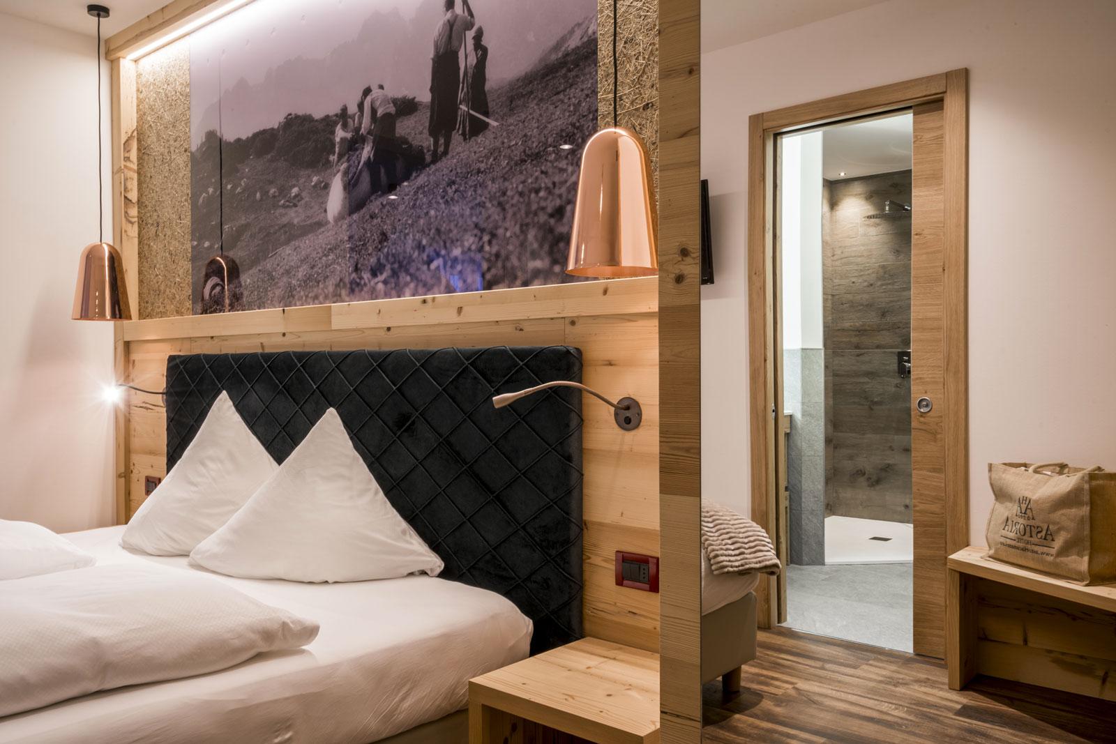 Junior Suite Hotel Astoria Wellness SpaCanazei Val di Fassa Dolomiti
